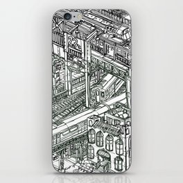 The Town of Train 1 iPhone Skin