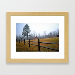 Along the Road Framed Art Print
