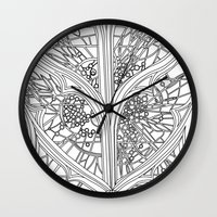 ben giles Wall Clocks featuring St Giles by Fiorella Modolo