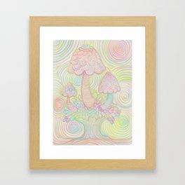 Treeshrooms Framed Art Print