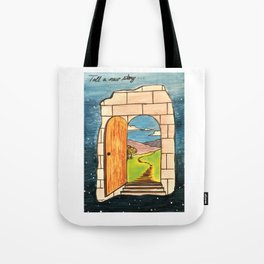 Tell a new story Tote Bag