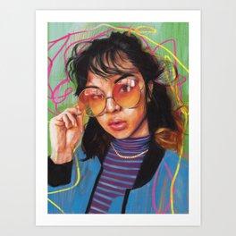 Return Art Print