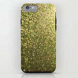 Gold Glitter Sparkle iPhone Case