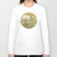ezra koenig Long Sleeve T-shirts featuring Daisy and court by UtArt