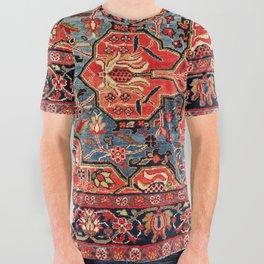 Kashan Poshti Central Persian Rug Print All Over Graphic Tee