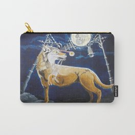 Wolf Mouth Carry-All Pouch