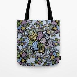Doodling Floral Tote Bag