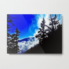 Lifting Mist Metal Print