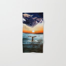 A whale and a morning Hand & Bath Towel