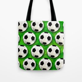 Soccer Ball Football Pattern Tote Bag