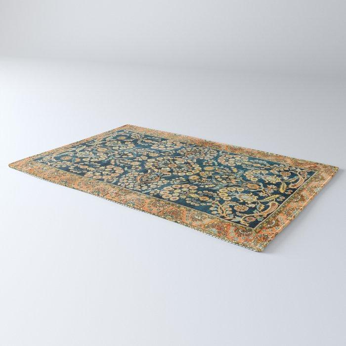 Sarouk  Antique West Persian Rug Print Rug
