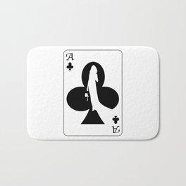 Ace of Clubs Bath Mat
