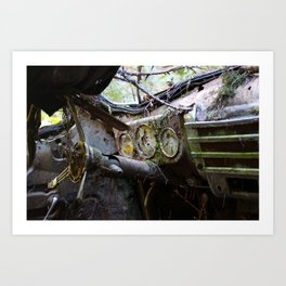 Broken Dash Art Print