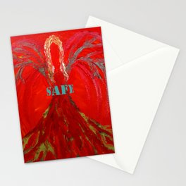 Feel SAFE Angel Stationery Cards