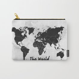 The world -map Carry-All Pouch