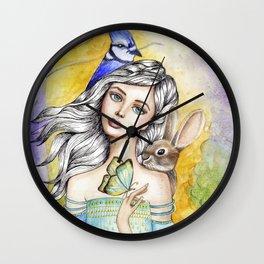 My Little Friends Wall Clock