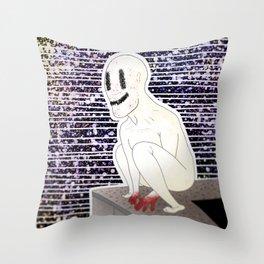 Super Creep Throw Pillow