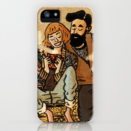 Perfect couple iPhone Case