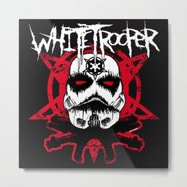 Whitetrooper Metal Print