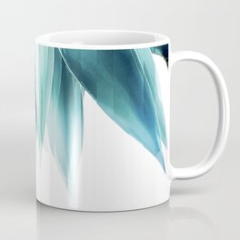 Agave geo fringe - teal Coffee Mug
