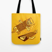 doors Tote Bags featuring Lucha Doors!  by Charity Ryan