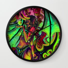 Demon Hunter Wall Clock