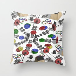 Weighted Array Throw Pillow