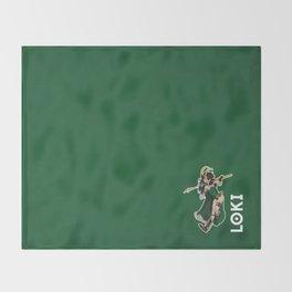 Lady Loki Throw Blanket