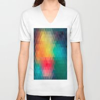 labyrinth V-neck T-shirts featuring Labyrinth by sophtunes