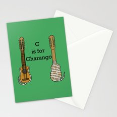 C is for Charango Stationery Cards