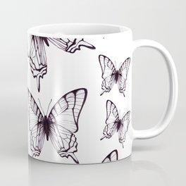 simple butterfly pattern Coffee Mug