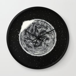 Black series II - When The Lights Went Out Wall Clock