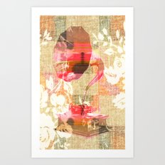 Dueling Phonographs III Art Print