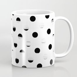 Polka Dot Gross Stripes Coffee Mug