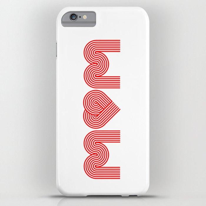Love Mum/Mom iPhone Case
