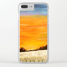 Mississippi Sunset Clear iPhone Case