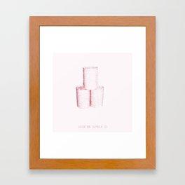 Variation Number 25 (sketch) Framed Art Print