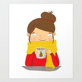 Hot Cocoa Art Print