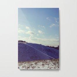 Winter Hills Metal Print
