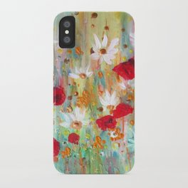 A summer meadow iPhone Case