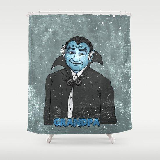 Grandpa Munster Shower Curtain