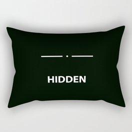 Hidden - Skyrim Rectangular Pillow