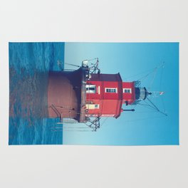 Wolf Trap Lighthouse Rug