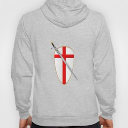 Crusaders Shield and Sword Hoody