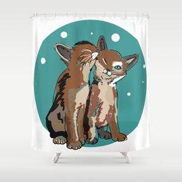 Kitty Kat Shower Curtain