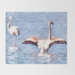 Time To Spread Your Wings Throw Blanket