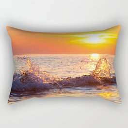 Sun Splash Rectangular Pillow