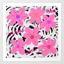 Viva! Art Print