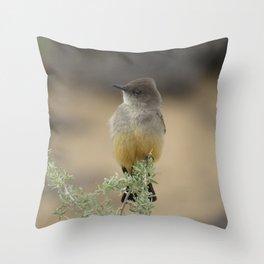 Says Phoebe Throw Pillow