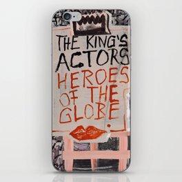 The Globe Kiss iPhone Skin